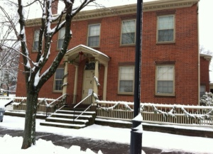 mansfield house winter