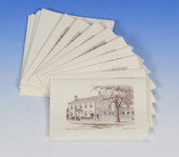 General Mansfield House notecards