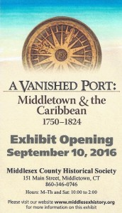 A Vanished Port exhibit