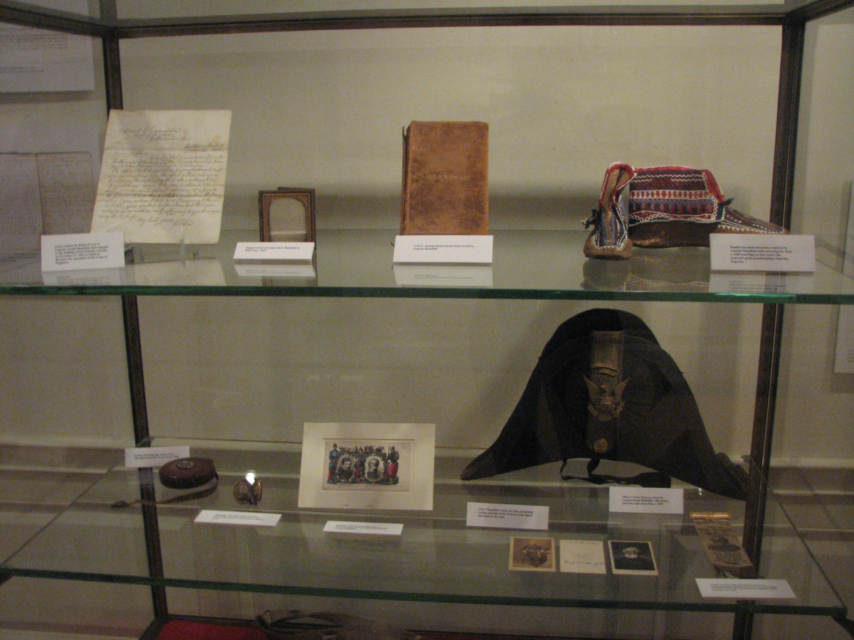 General Mansfield items