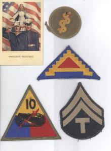 World War II patches