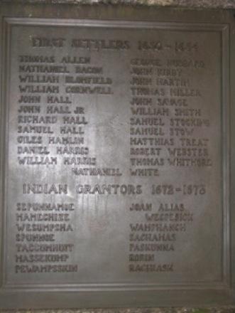Founding European Families and Native American Grantors