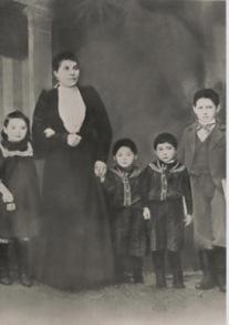 Sarah Shapiro and Children