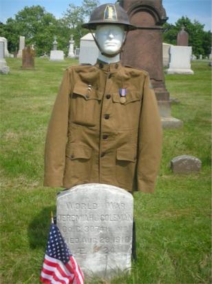 grave of Jeremiah Coleman-St. John's Cemetery